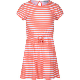 Regatta Catriona Dress Kids, fusion coral stripe